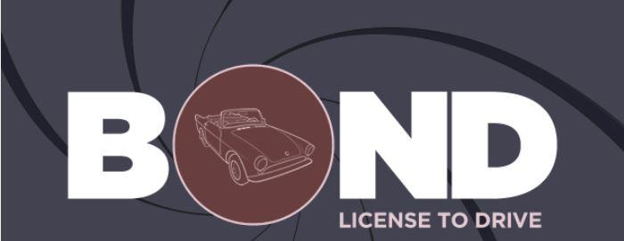 Bond License to drive