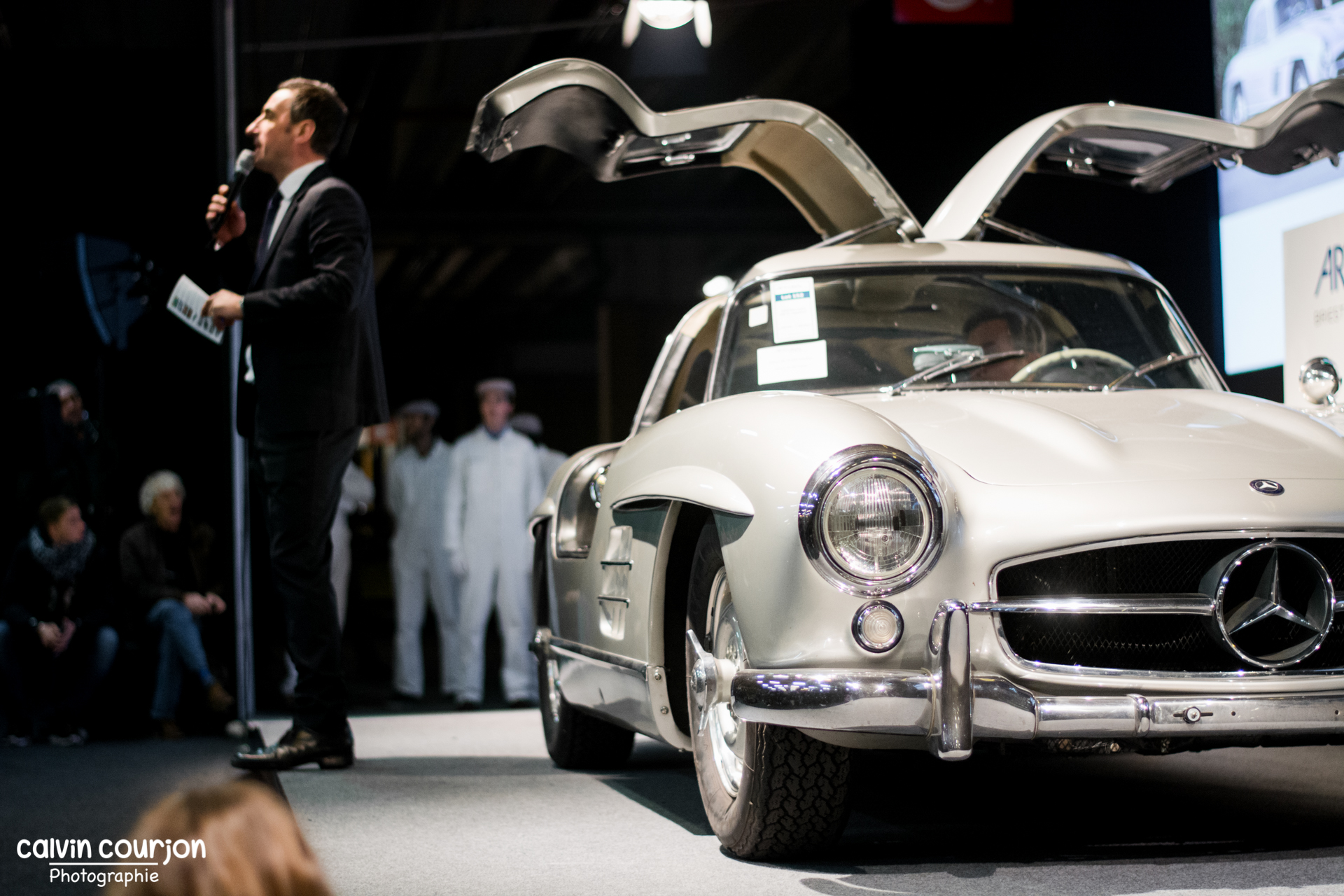 1956 Mercedes-Benz 300SL Gullwing - Calvin Courjon Photographie
