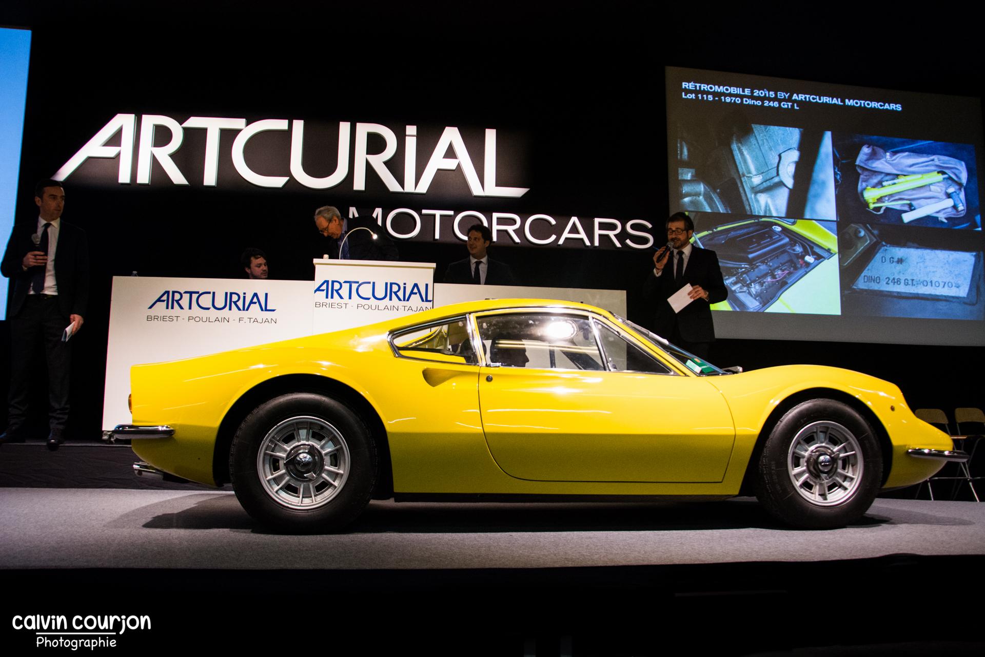 1970 Dino 246 GT L - Calvin Courjon Photographie