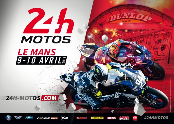 24 Heures Motos 2016 - cover