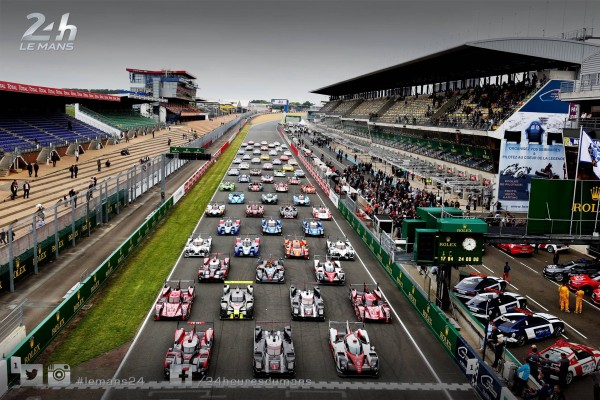 Photo officielle des voitures - 24 Heures du Mans 2016 - Photo by Eric Gilbert ACO