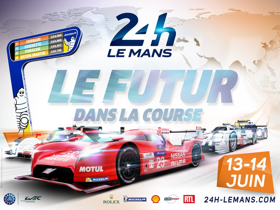 24h du mans 2015 pr sentation circuit bugatti tv live for Garage automobile le mans