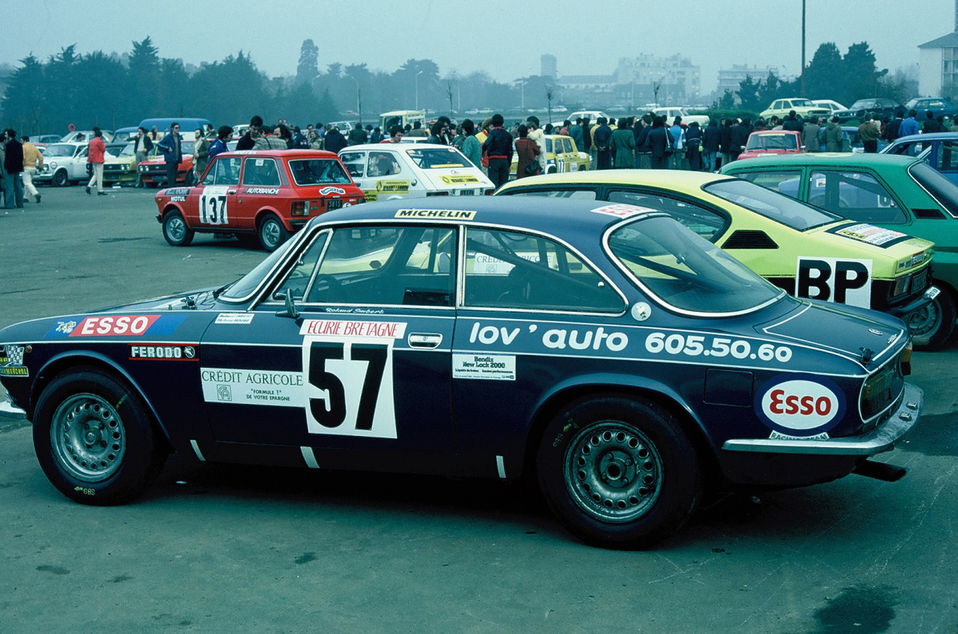 ALFA 2000 GTV ARMOR 1976 - Photo Thierry Le Bras