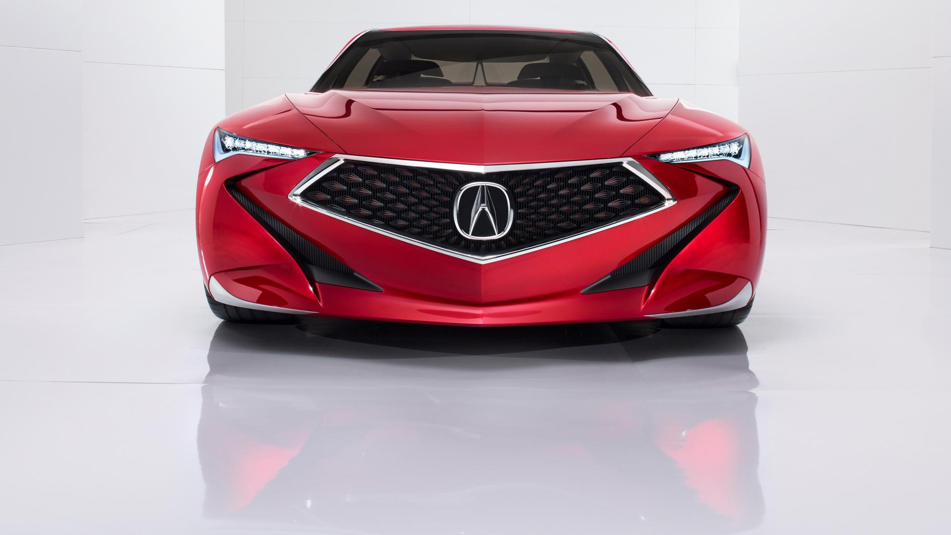 Acura Precison Concept - 2016 - front / avant - zoom