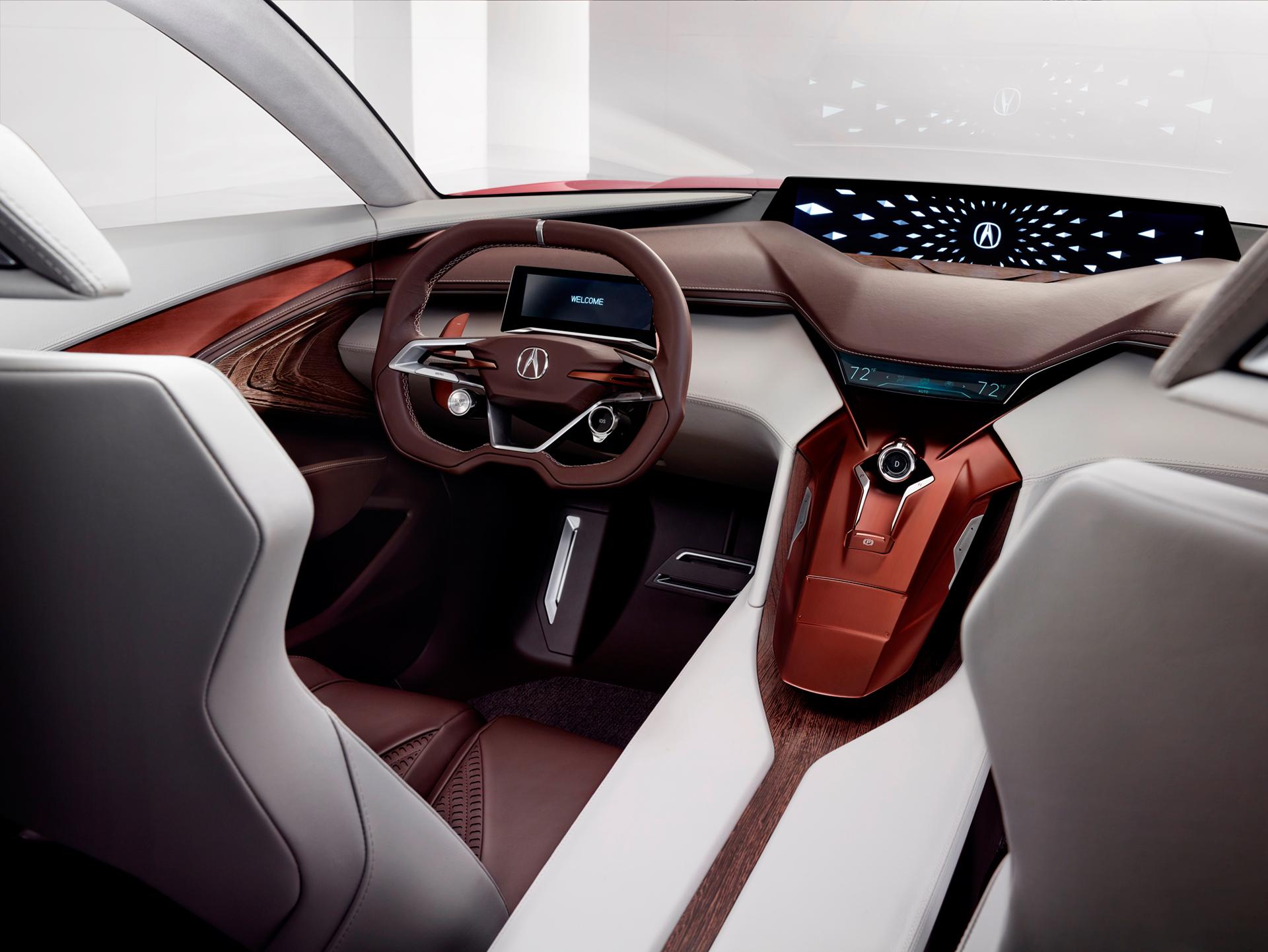 Acura Precison Concept - 2016 - interior / intérieur