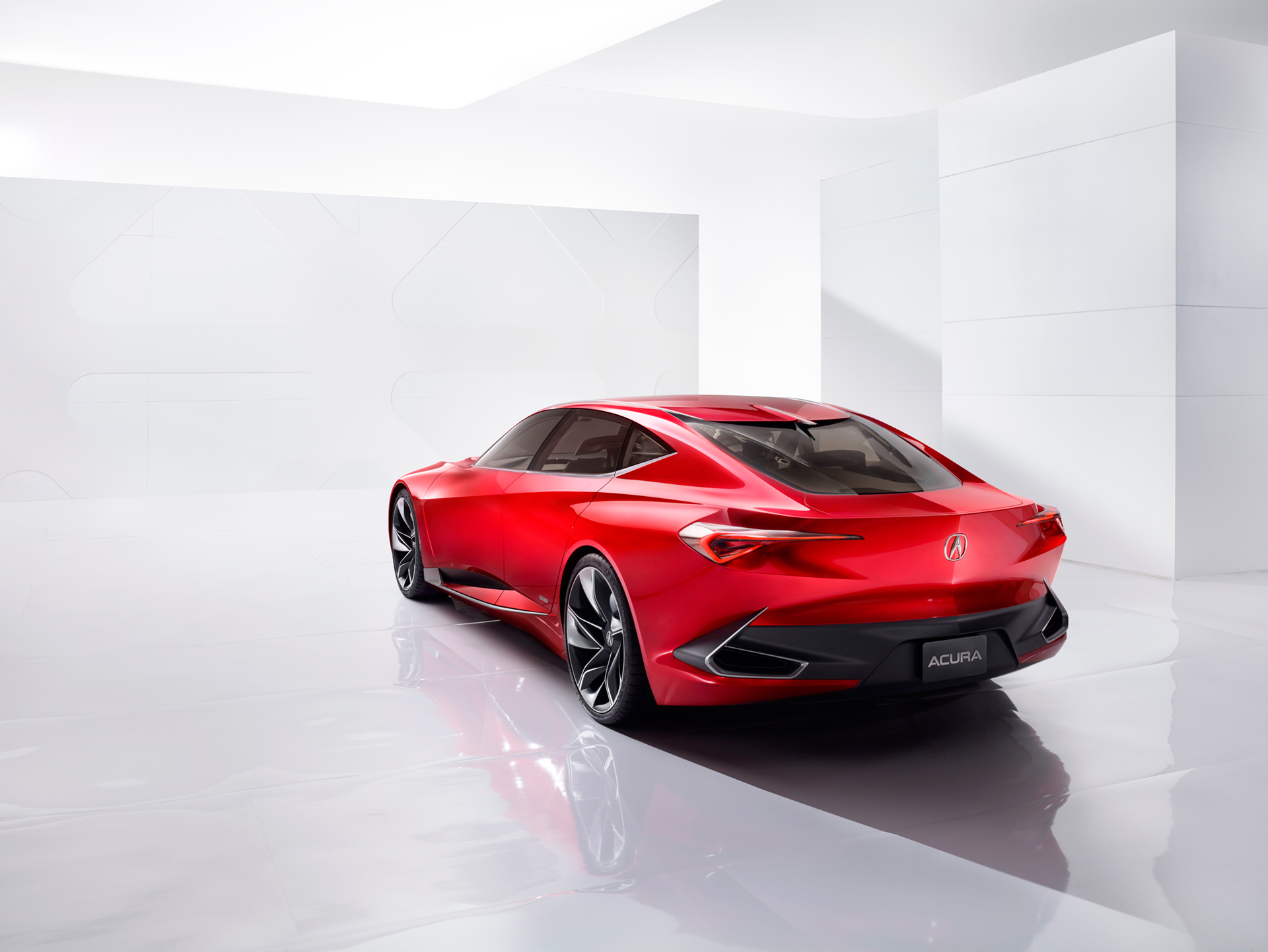 Acura Precison Concept - 2016 - rear side-face / profil arrière