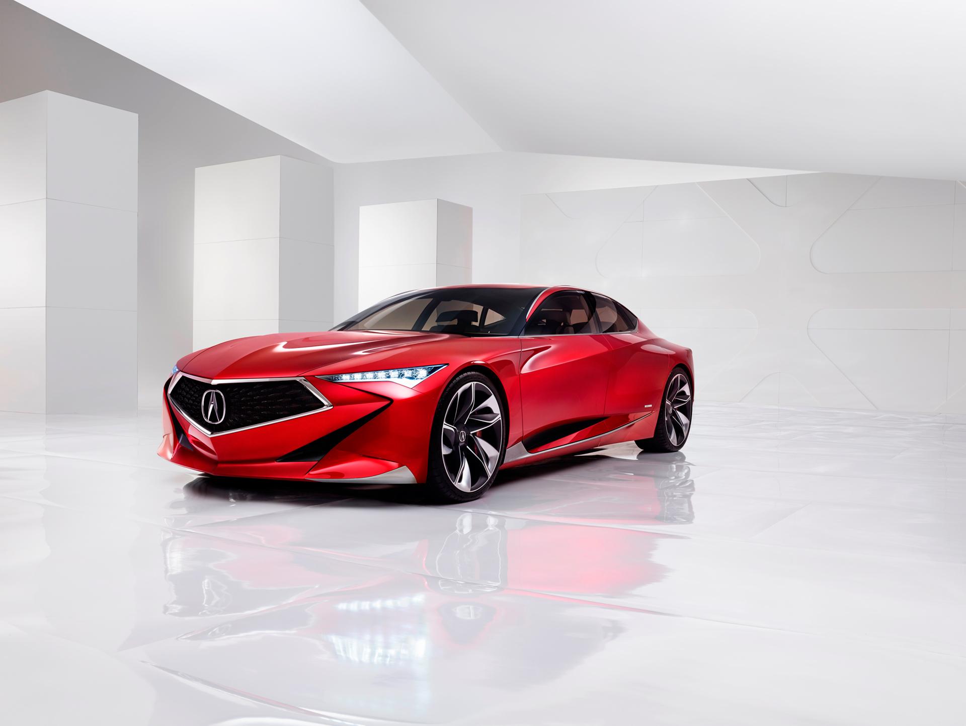 Acura Precison Concept - 2016 - front side-face / profil avant
