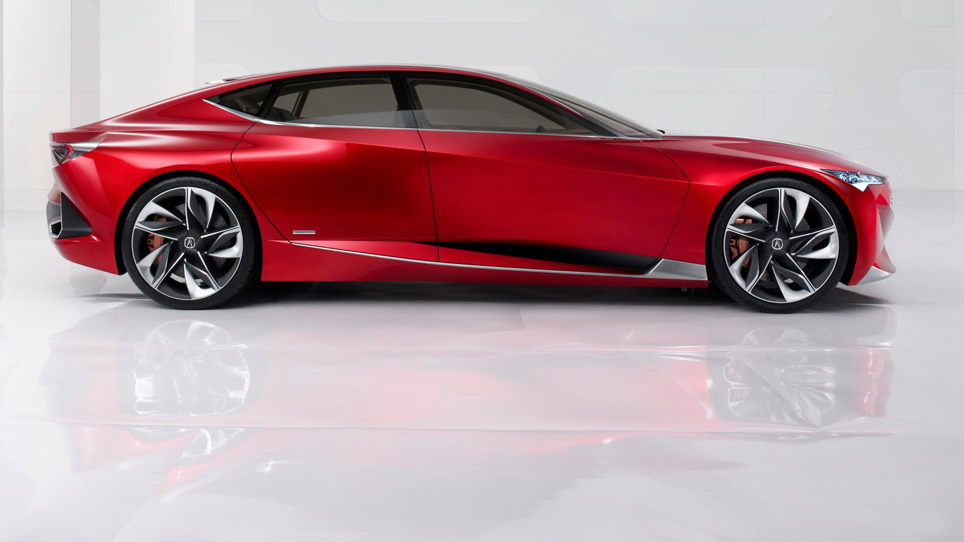Acura Precison Concept - 2016 - side-face / profil - zoom