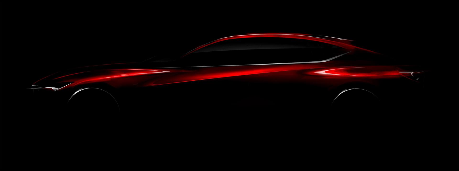 Acura Precison Concept - 2016 - teaser NAIAS