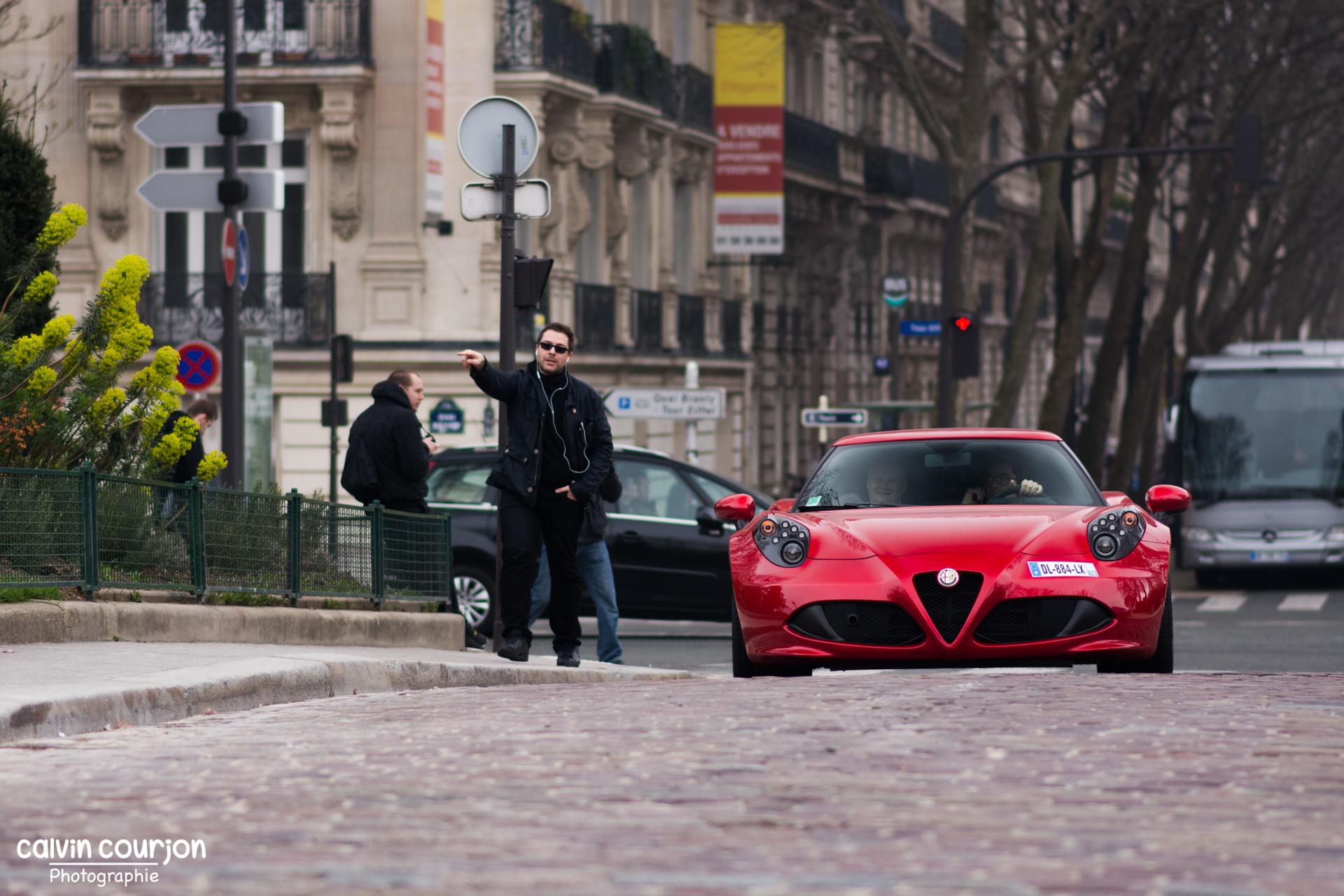 Alfa Romeo 4C - Rallye Paris 2015 - Calvin Courjon Photographie