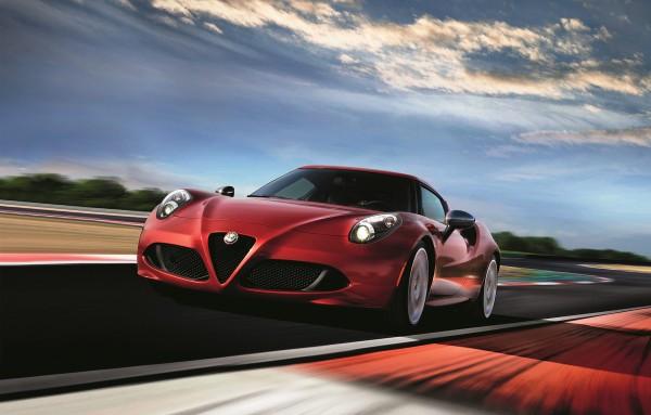 Alfa Romeo 4C Limited Edition - 2016 - avant / front