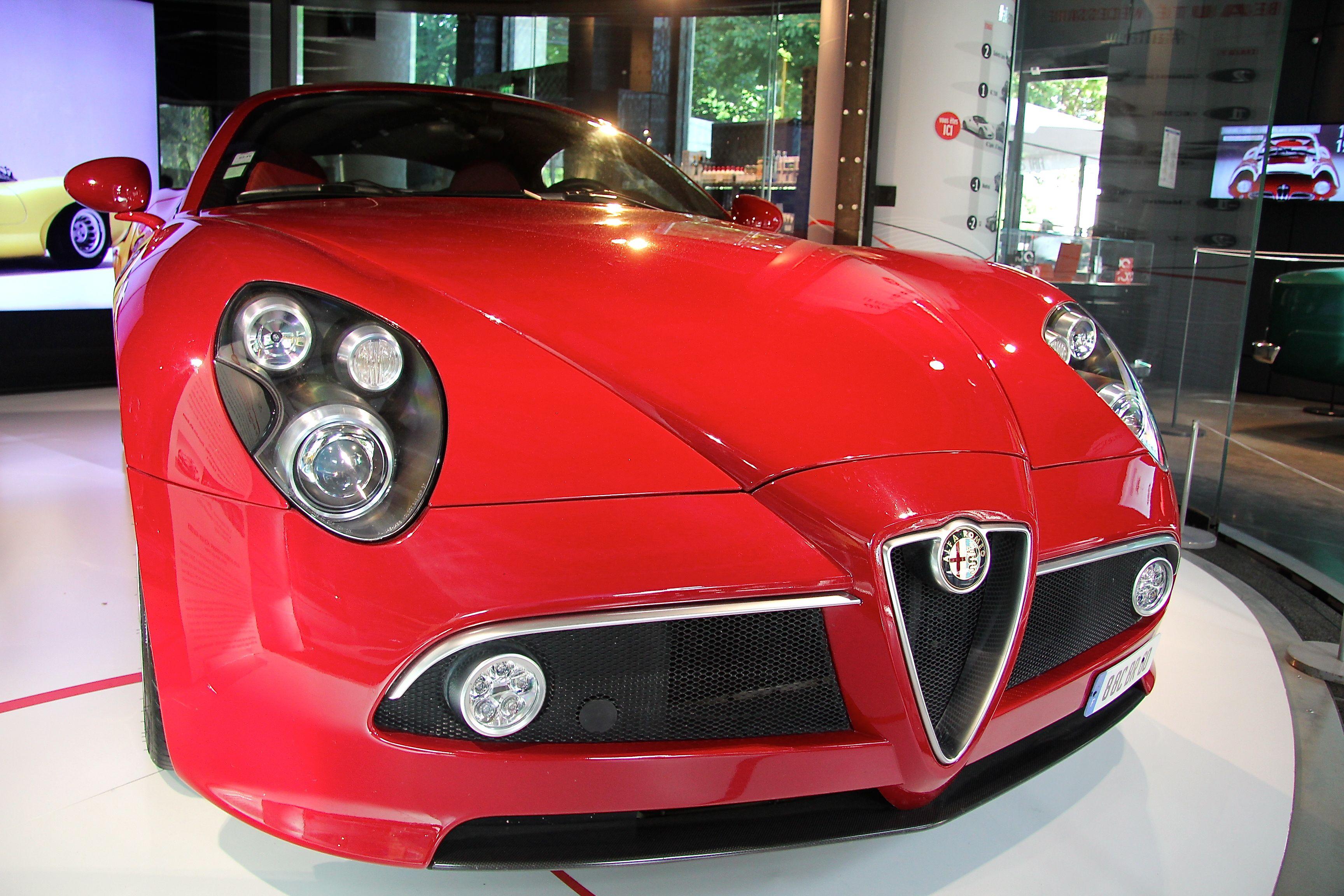 Alfa Romeo - 8C Competizione - MotorVillage - Alfa Romeo : la beauté nécessaire - 2015 - Photographie Ludo
