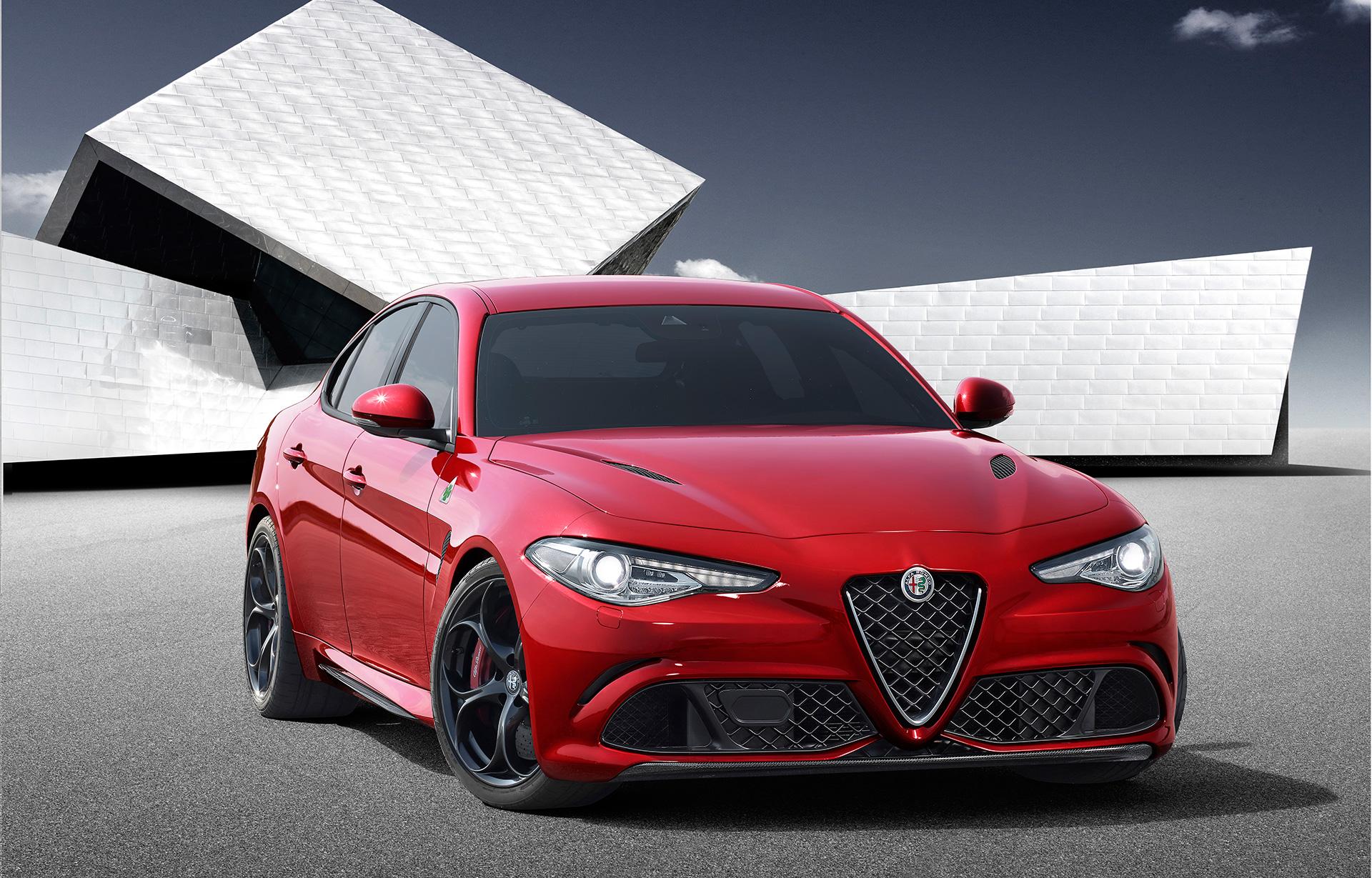 Alfa Romeo Giulia - 2015 - avant / front