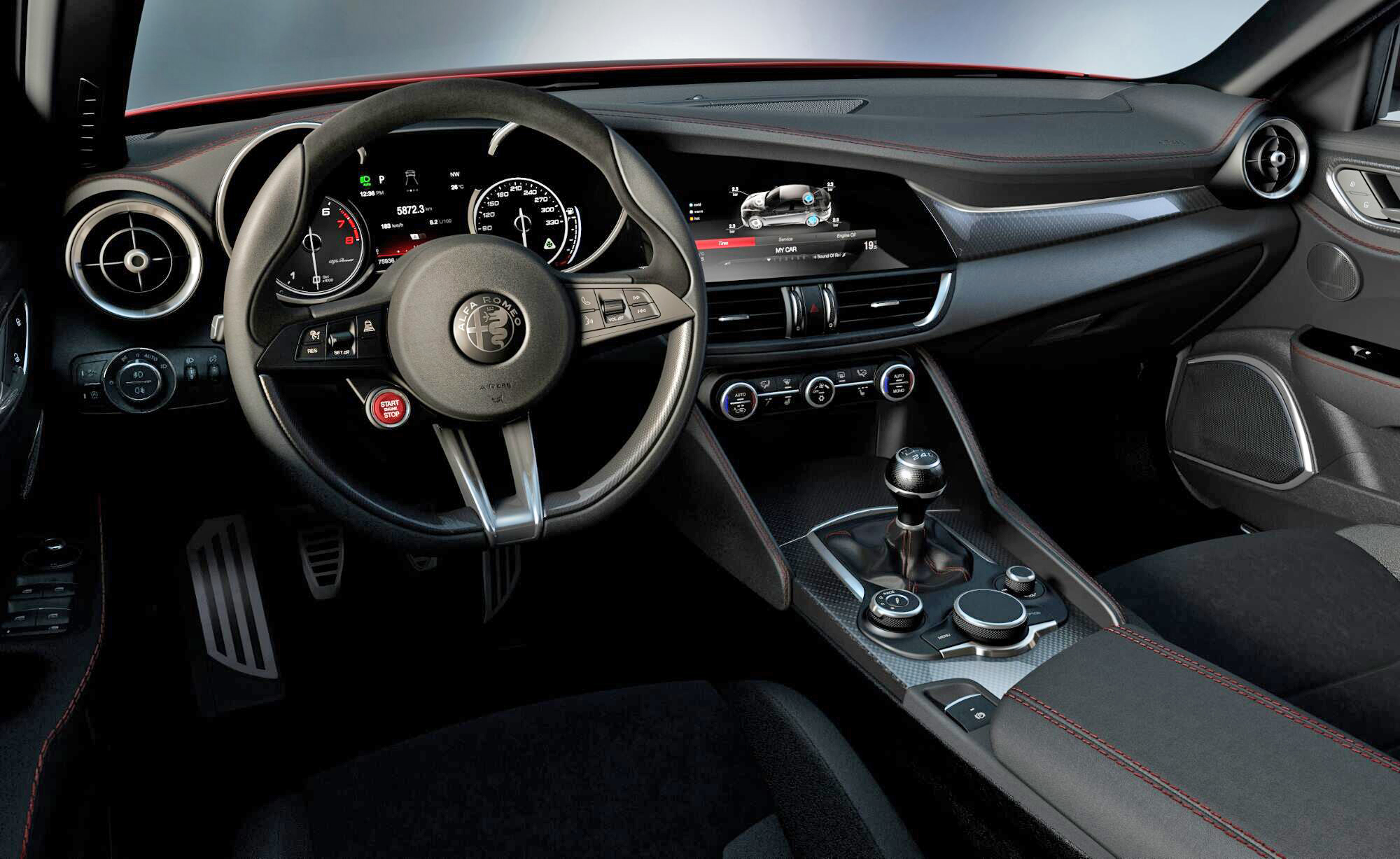 Alfa Romeo Giulia - 2015 - intérieur / interior