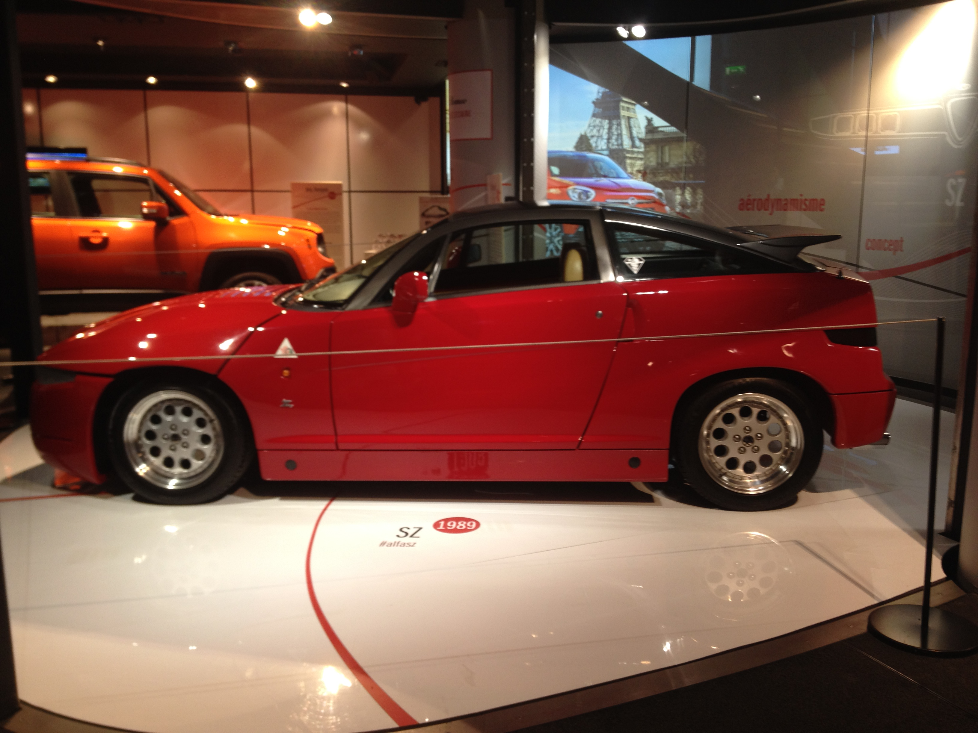 Alfa Romeo - SZ - MotorVillage - 2015 - Photographie Laurent H