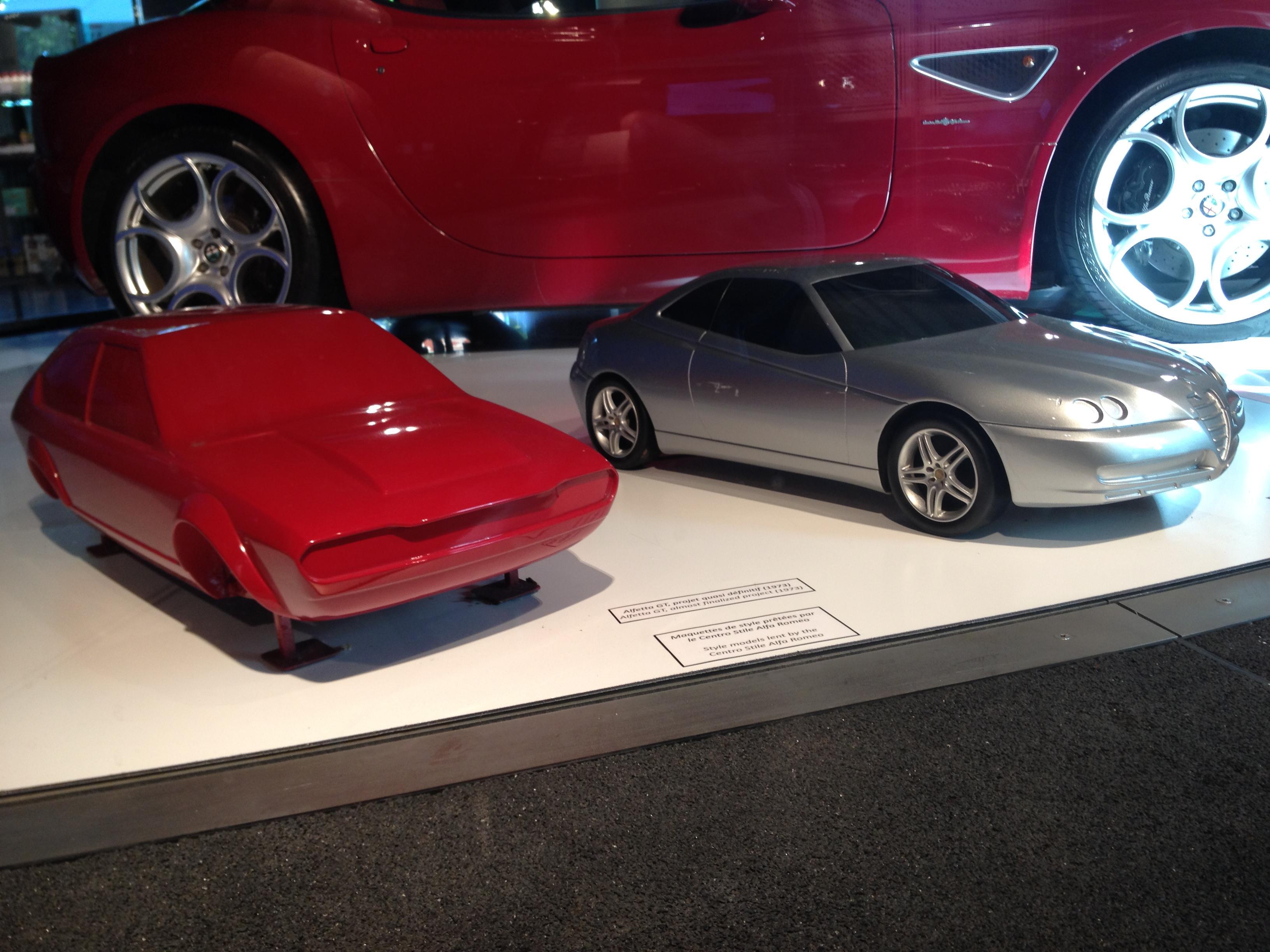 Alfa Romeo - maquettes de style - MotorVillage - 2015 - Photographie Laurent H