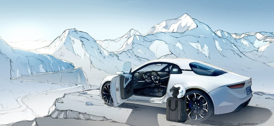 Alpine Vision 2016 - sketch design