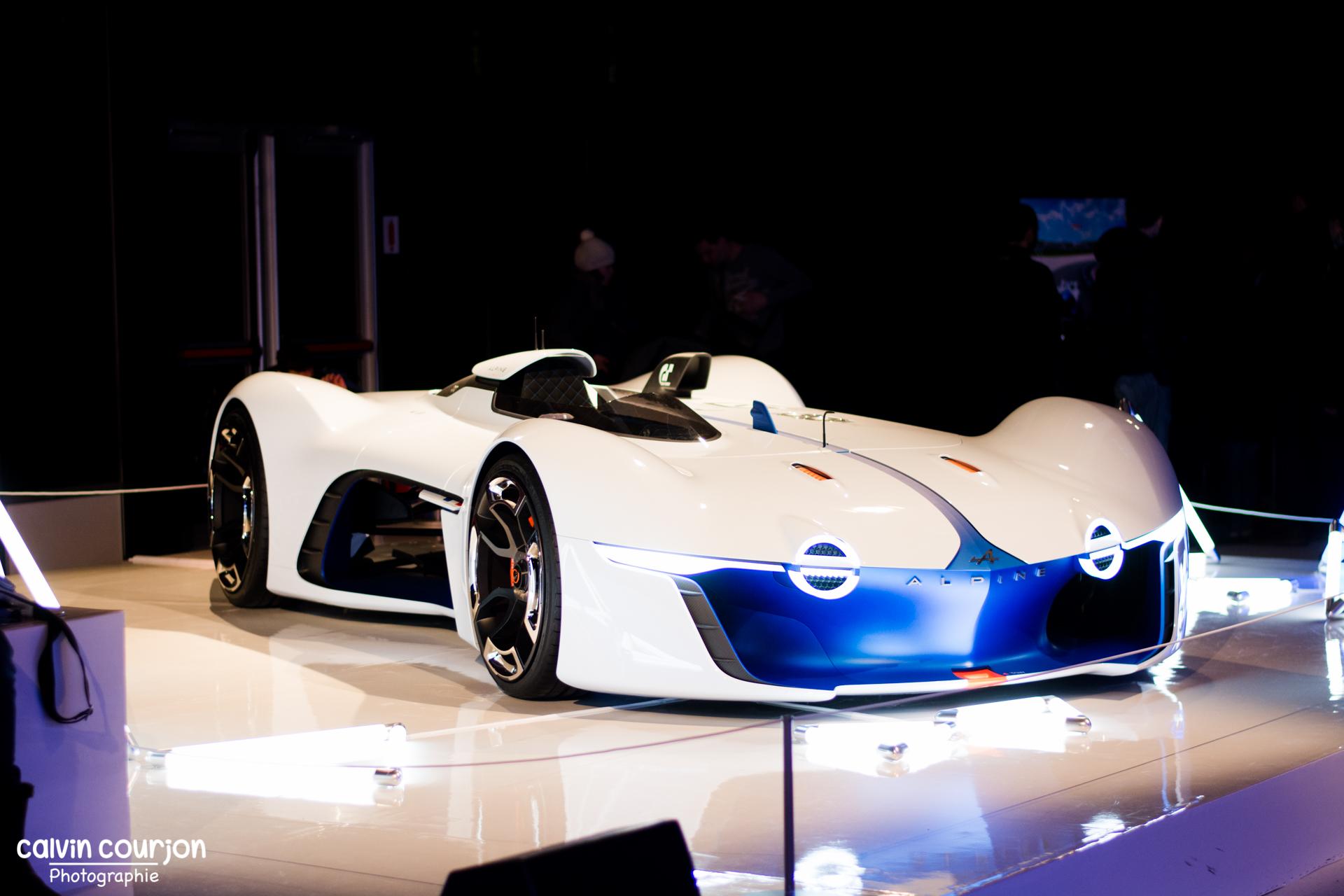 Alpine Vision GT - FAI 2015 - Paris - Calvin Courjon Photographie