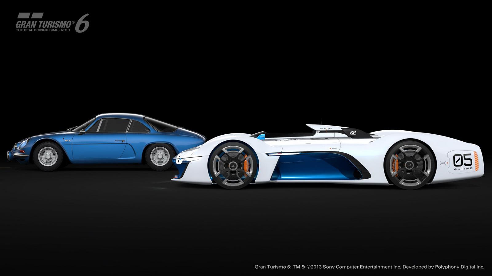 Alpine Vision GT et l'A110 - image GT6