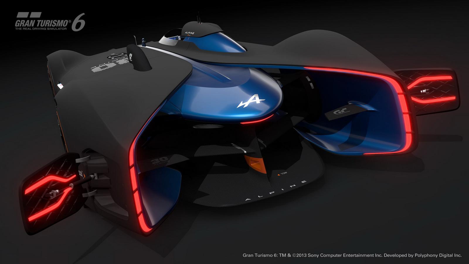 Alpine Vision GT - arrière