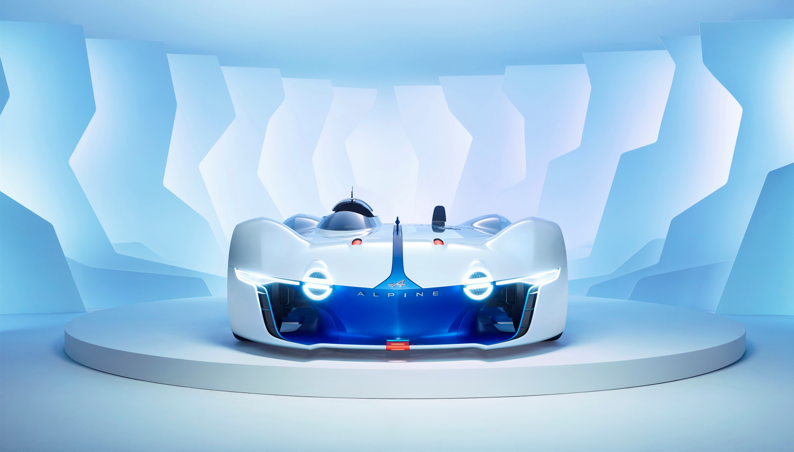 Alpine Vision GT - face avant