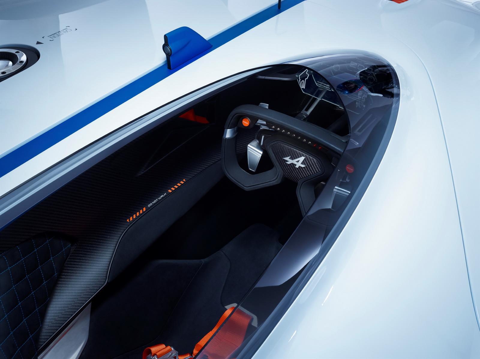 Alpine Vision GT - intérieur