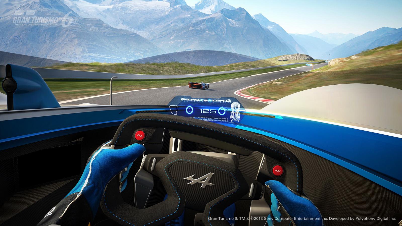 Alpine Vision GT - cockpit - image GT6