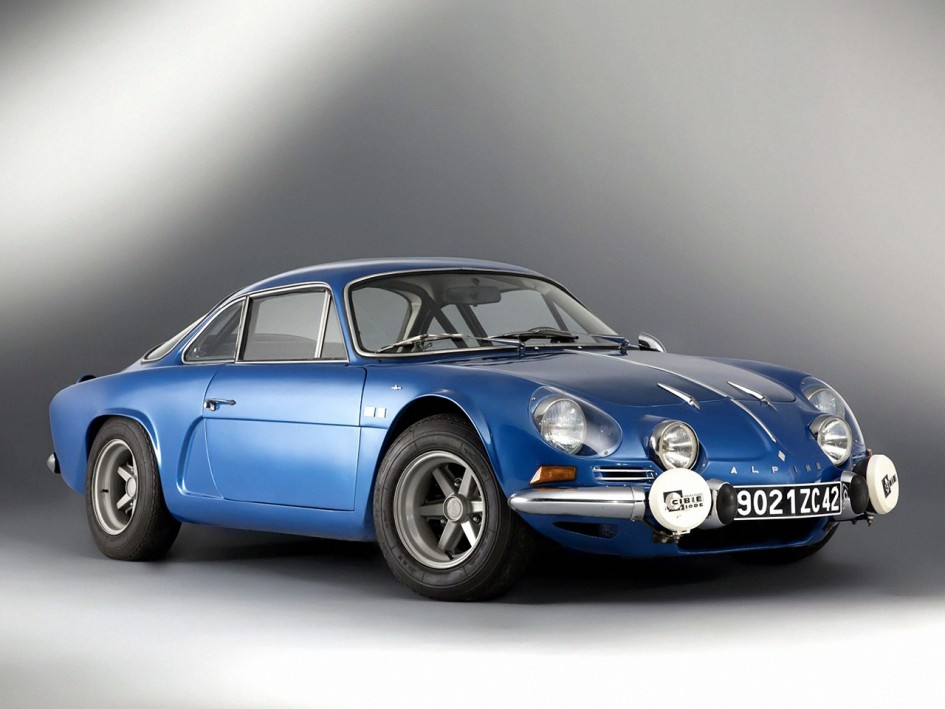 alpine a110 sur base renault 4cv ch ssis a106 moteur r8. Black Bedroom Furniture Sets. Home Design Ideas