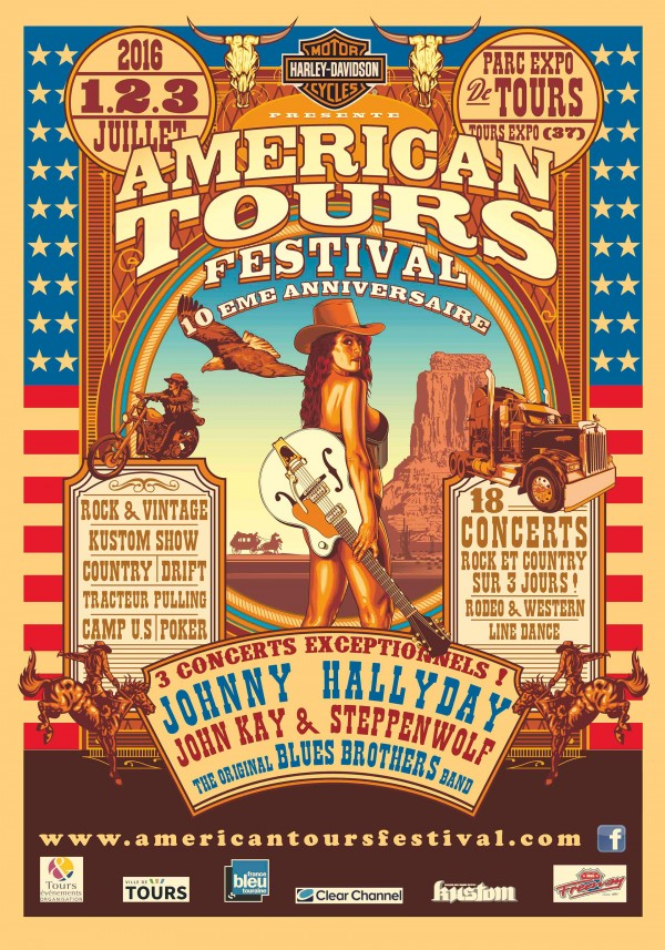 American Tours Festival - 2016 - poster