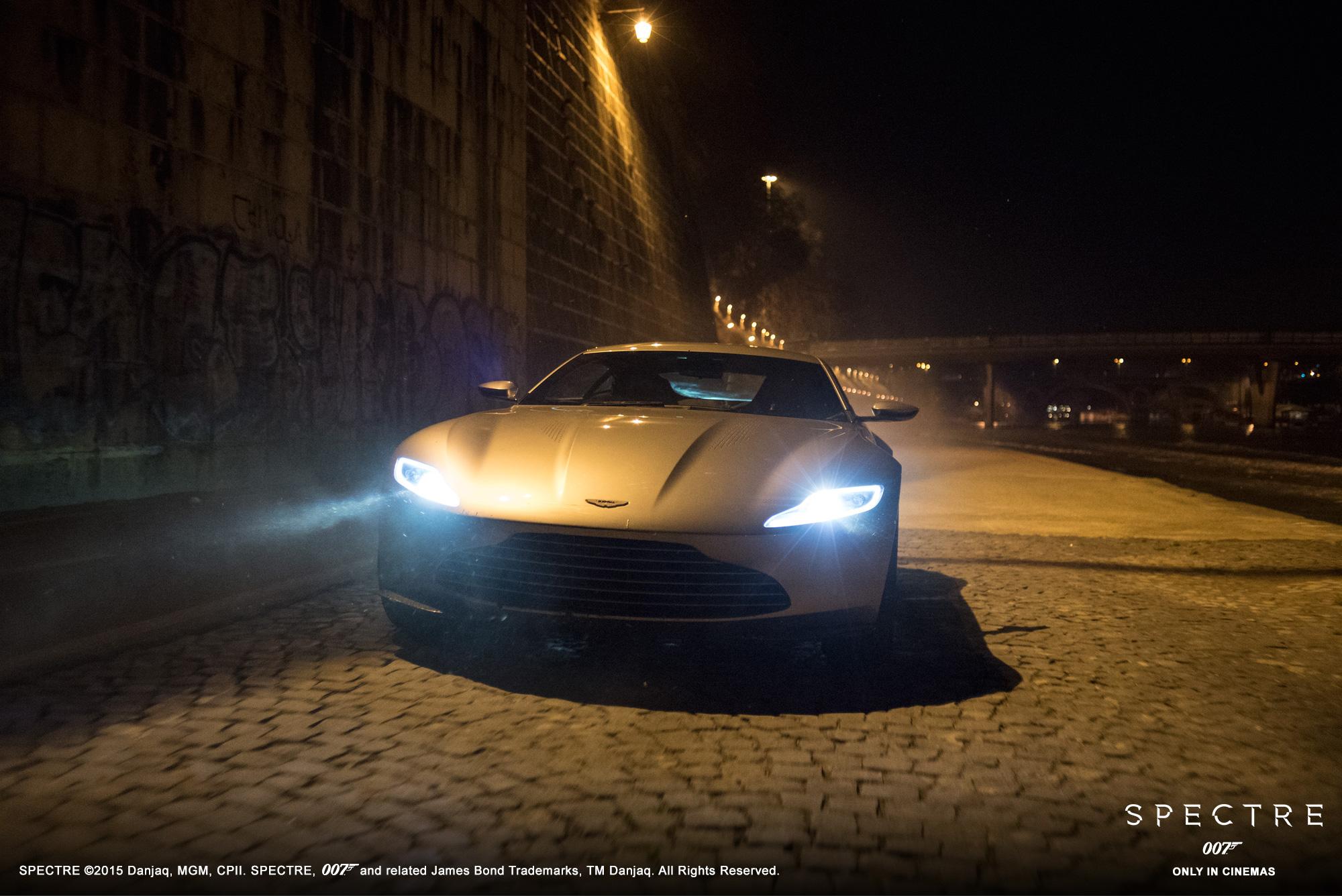 Aston Martin DB10 - Spectre 2015 - avant / front