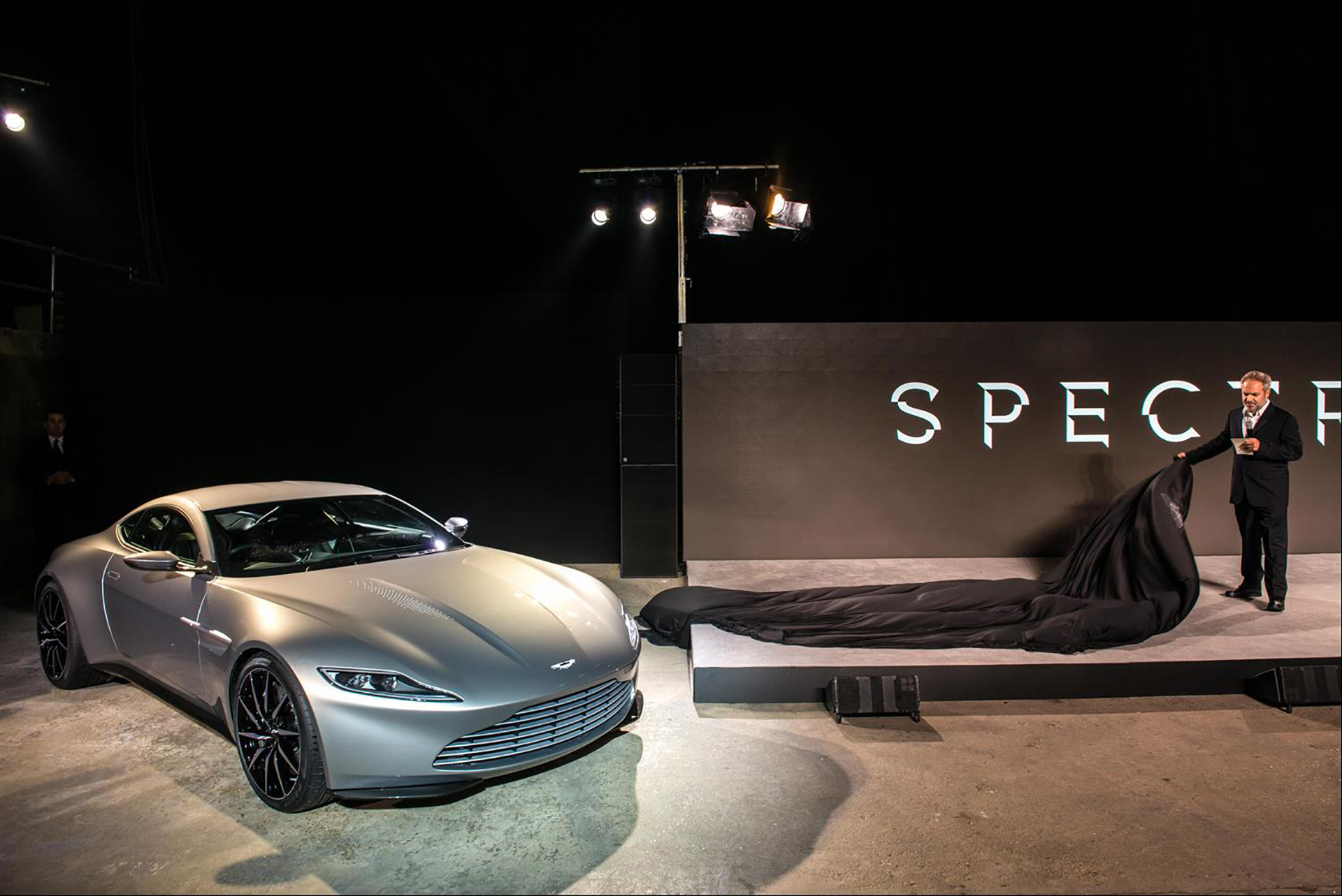 Aston Martin DB10 - Spectre - Announcement 2014