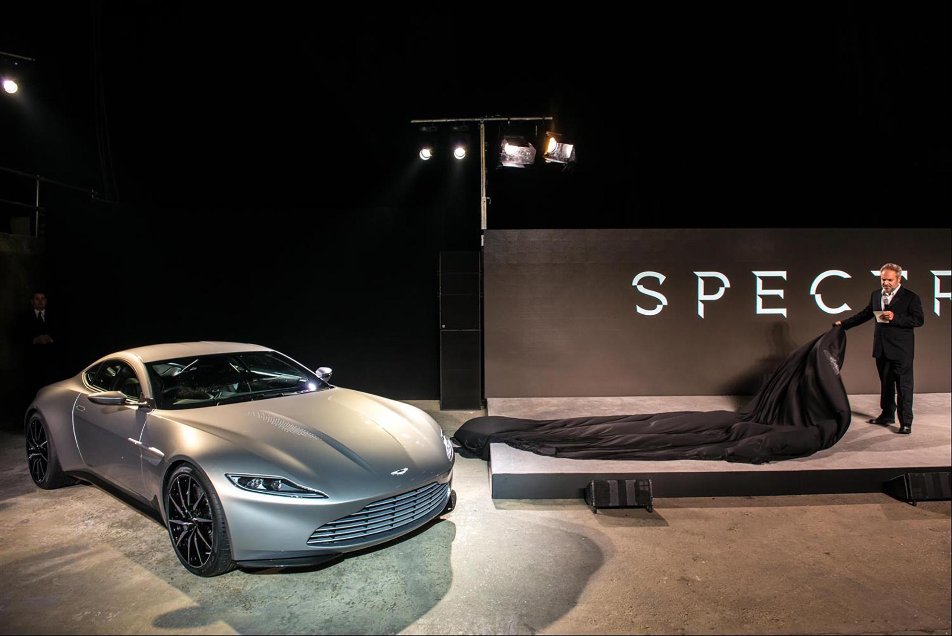 Aston Martin DB10 - Spectre - Announcement 2014