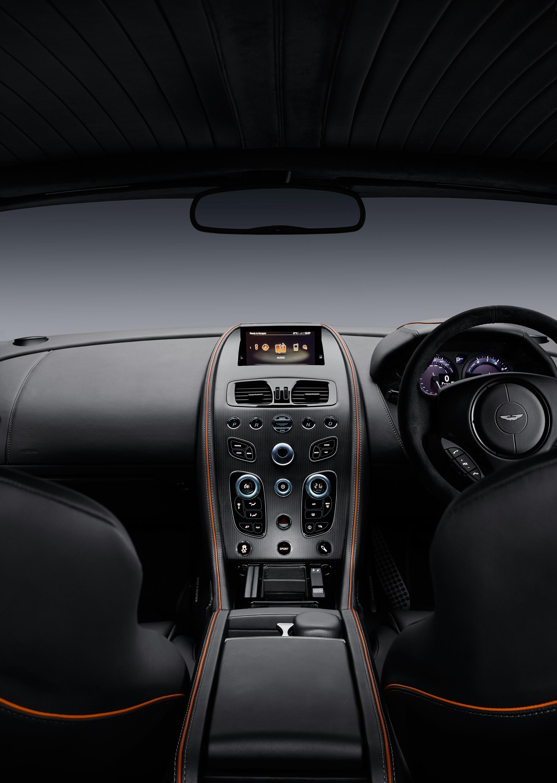 Aston Martin DB9 GT - 2015 - intérieur / interior
