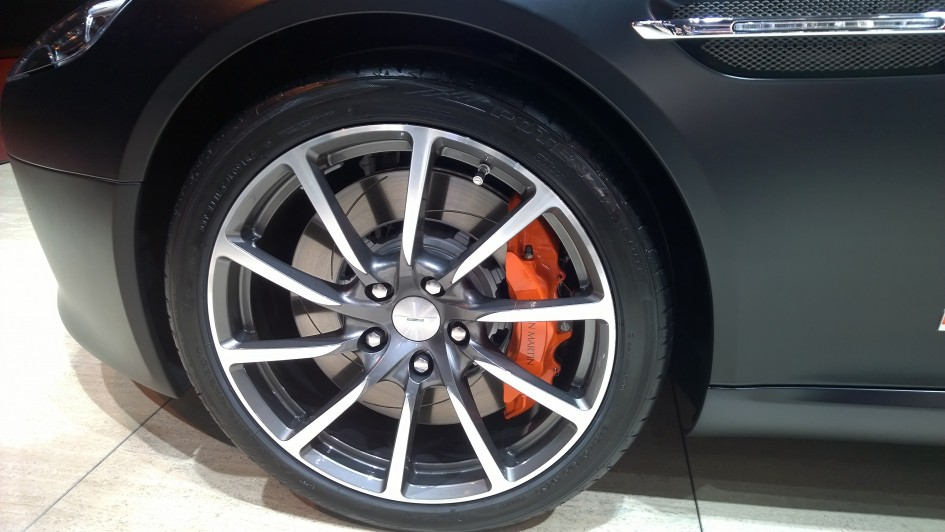 Aston Martin Rapide S - jante - Paris 2014 - DESIGNMOTEUR