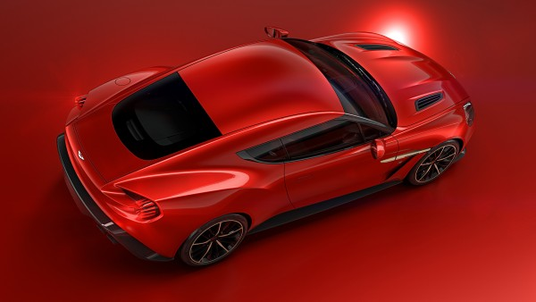 Aston Martin Vanquish Zagato Concept - 2016 - top rear / toit arrière