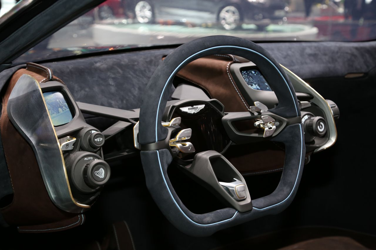 Aston Martin DBX - Geneva - 2015 - Clément Choulot