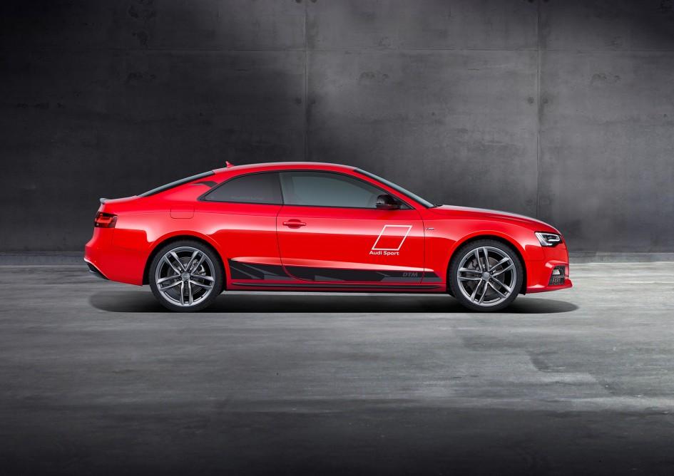 Audi A5 DTM selection - 2015 - profil / side-face