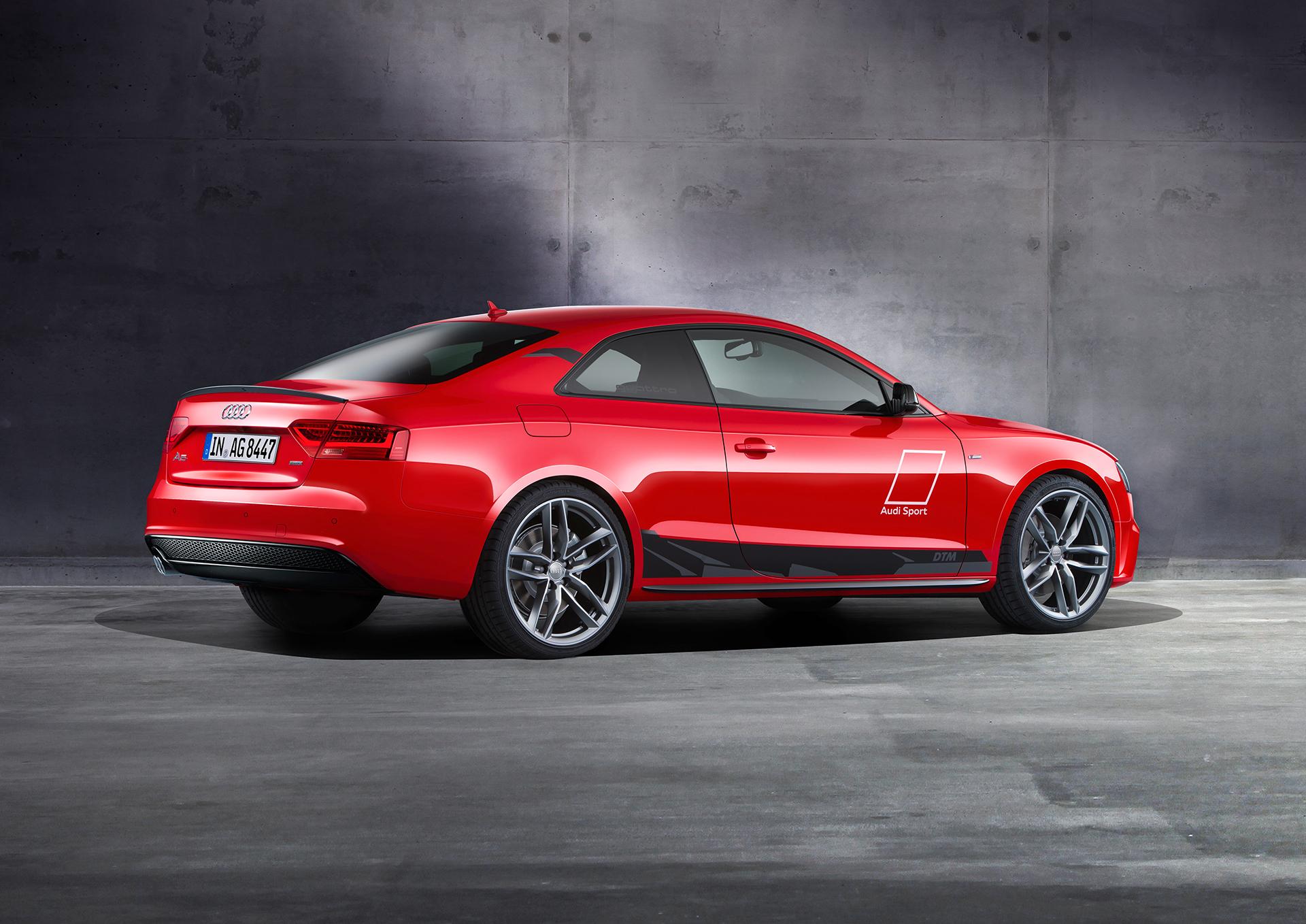 Audi A5 DTM selection - 2015 - profil arrière / rear side-face