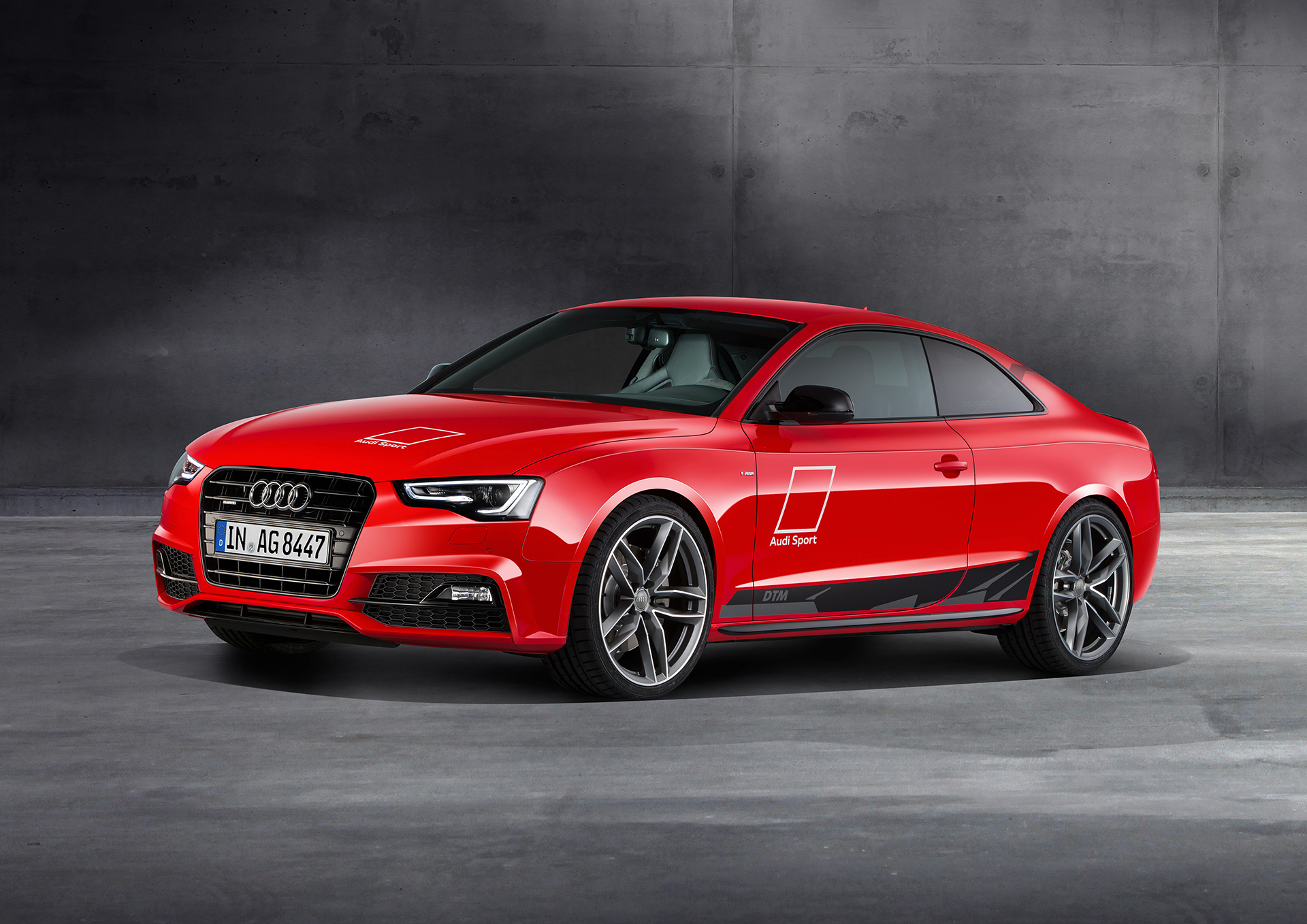 Audi A5 DTM selection - 2015 - profil avant / front side-face