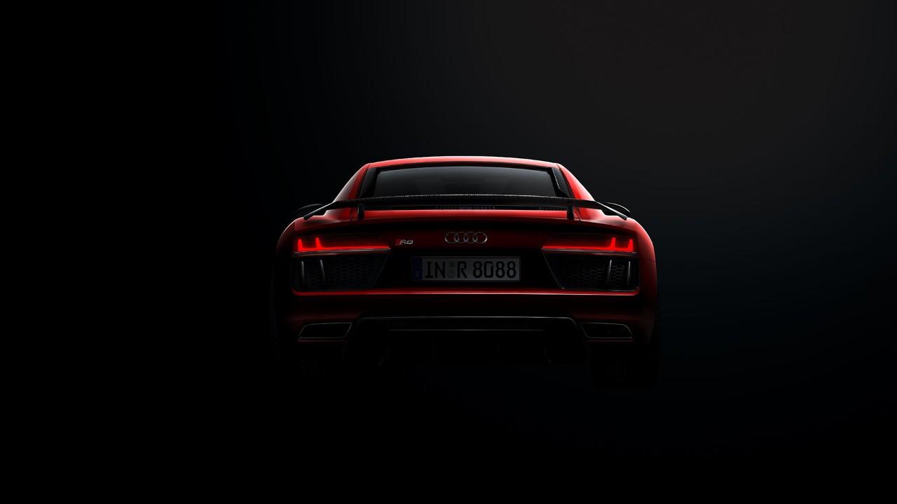 Audi R8 Coupé - face arrière LED