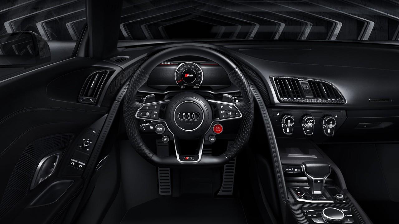 Audi R8 2015 - intérieur