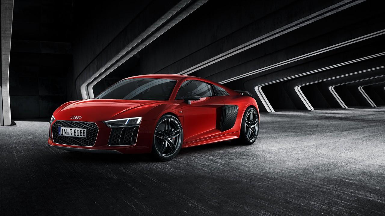 Audi R8 Coupé - profil avant