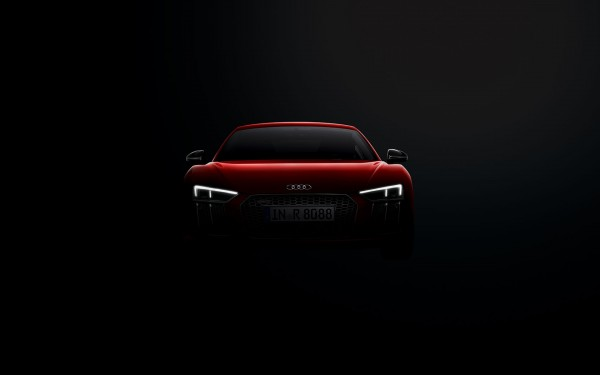 Audi R8 Coupé - face avant LED