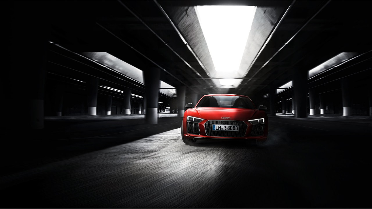 Audi R8 Coupé - face avant