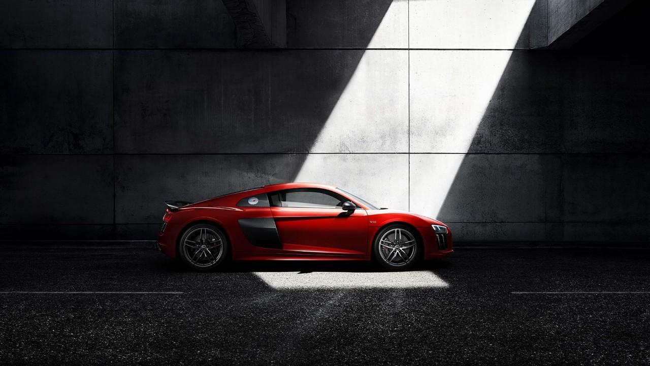 Audi R8 Coupé - profil