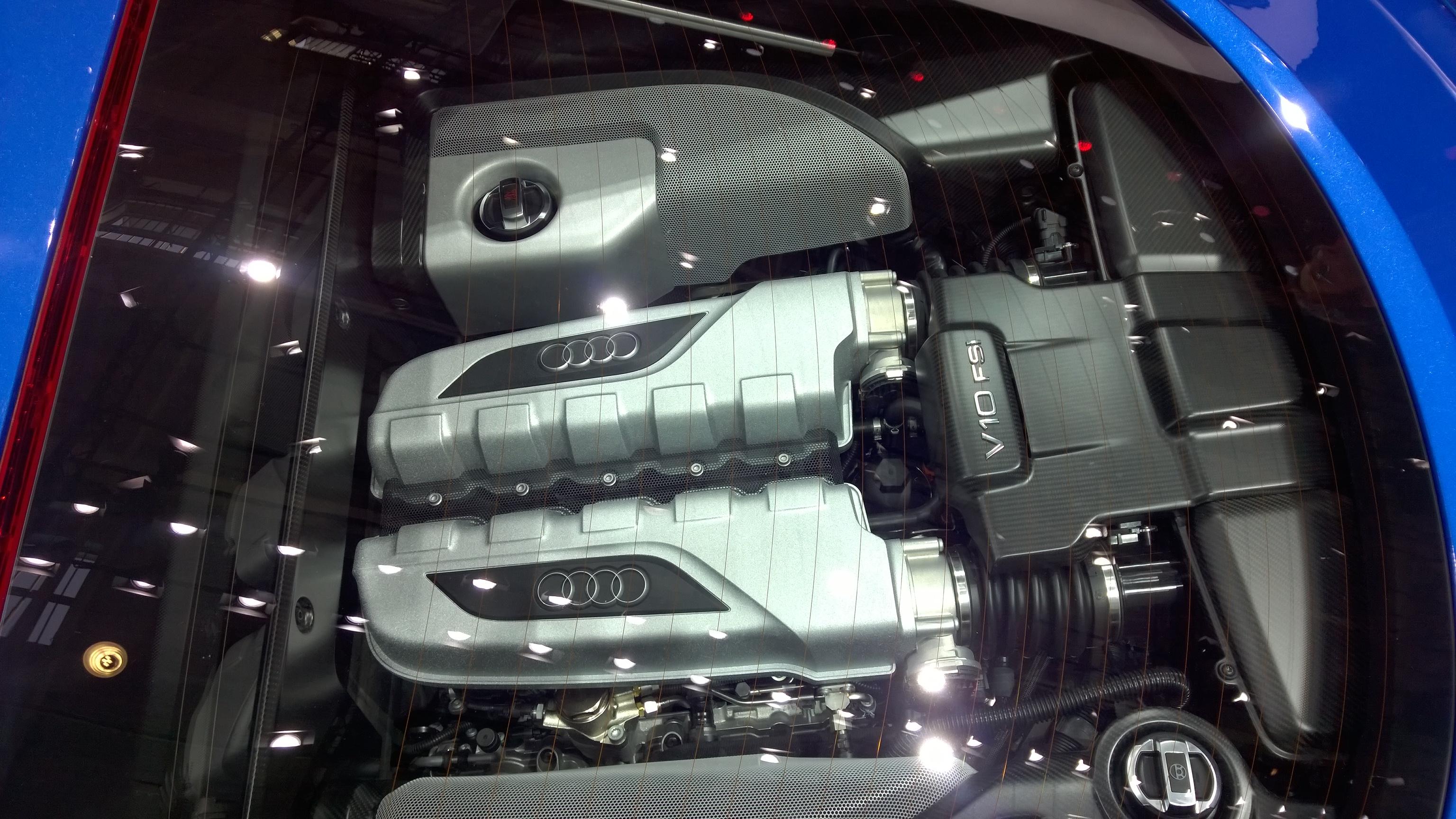 Audi R8 LMX - v10 - Paris 2014 - DESIGNMOTEUR