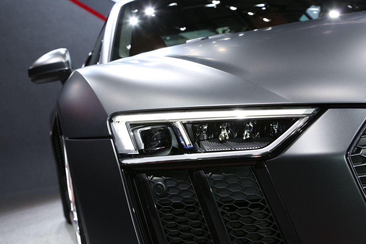 Audi R8 v10 - Geneva - 2015 - Clément Choulot