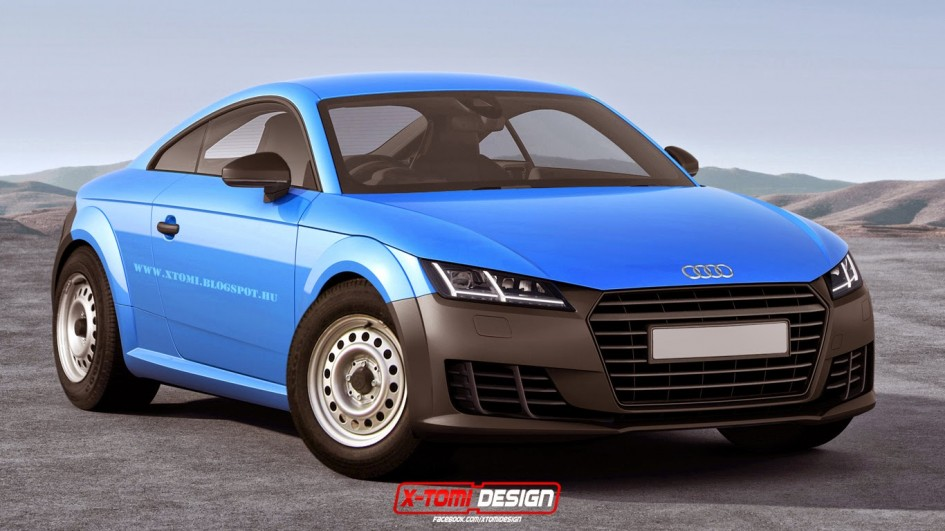 Audi TT - artwork by X-Tomi Design