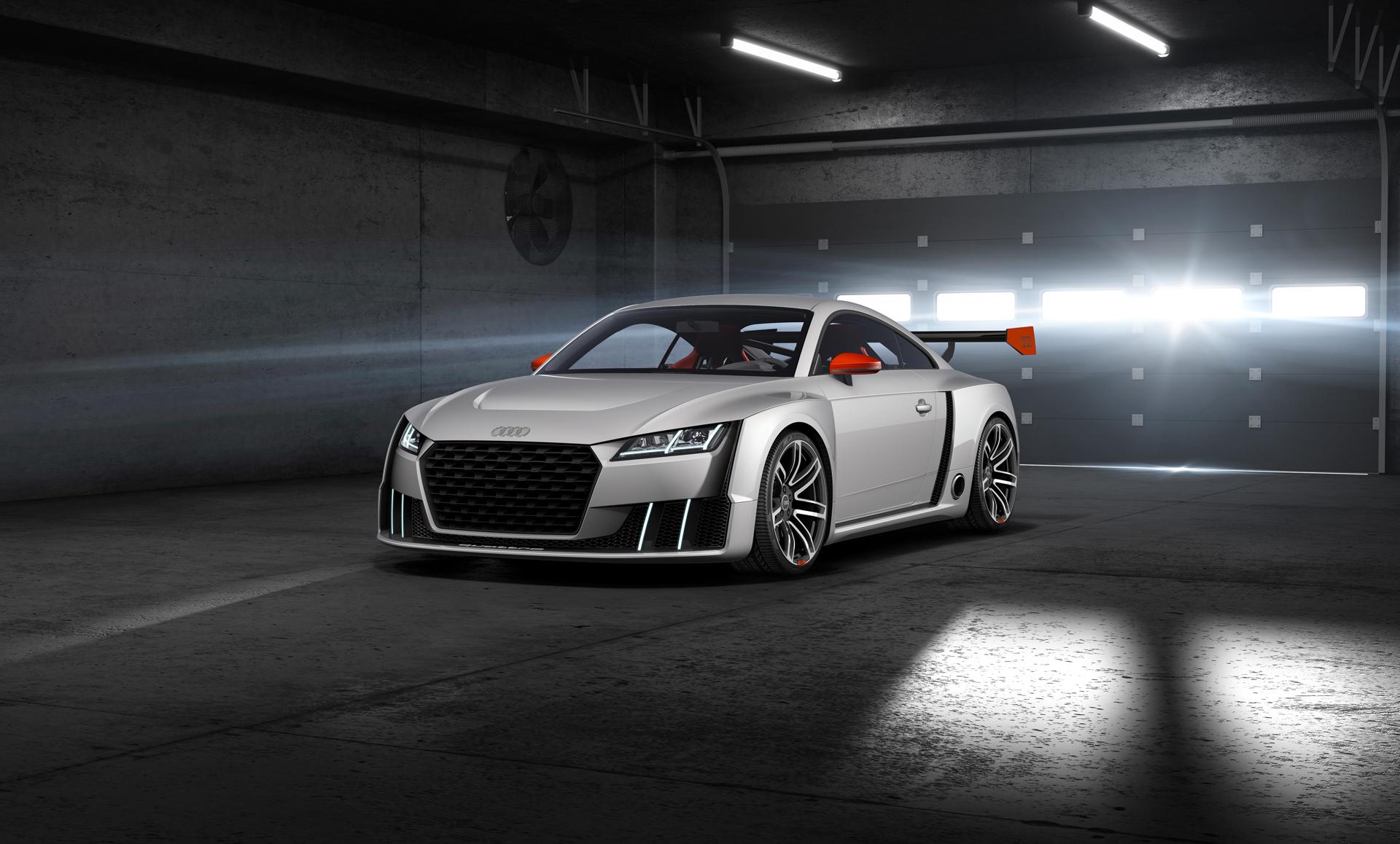 Audi TT clubsport turbo concept - front / avant