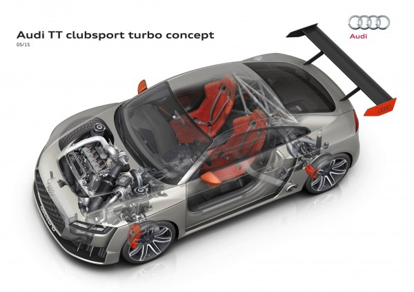 Audi TT clubsport turbo concept - inside powertains